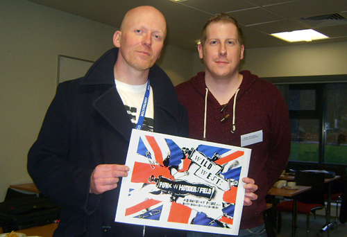 Jon and Martyn - Music and history collaboration